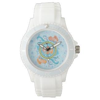 Relógio De Pulso Harmonia dos mares, boho, hippie, boémio