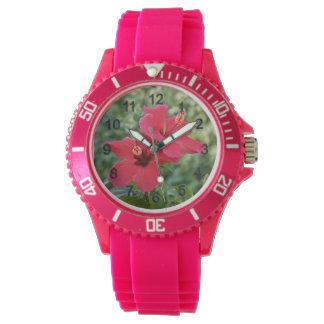 Relógio De Pulso Hibiscus