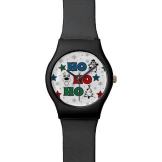 Relógio De Pulso Ho-Ho-Ho design do Natal