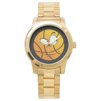 Relógio De Pulso Homem viril Baller Emoji do ouro
