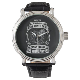 Relógio De Pulso Horóscopo fevereiro