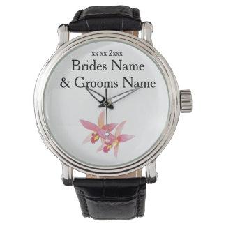 Relógio De Pulso Ideias elegantes simples modernas do casamento da