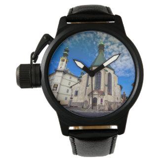 Relógio De Pulso Igreja de St. Catherine, Banska Stiavnica,