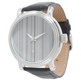 Relógio De Pulso Impressão cinzento cinzento do teste padrão das