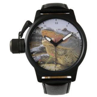 Relógio De Pulso Jacaré