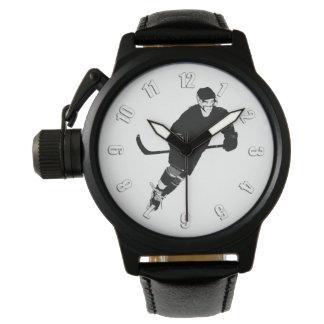Relógio De Pulso Jogador de hóquei em gelo