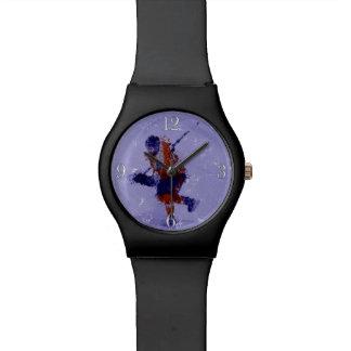 Relógio De Pulso Jogador de hóquei em gelo mim - série dos esportes