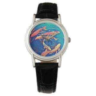 Relógio De Pulso Lagoa de Koi