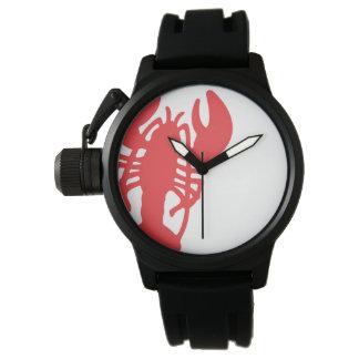 Relógio De Pulso Lagosta vermelha