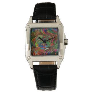 Relógio De Pulso Leão abstrato