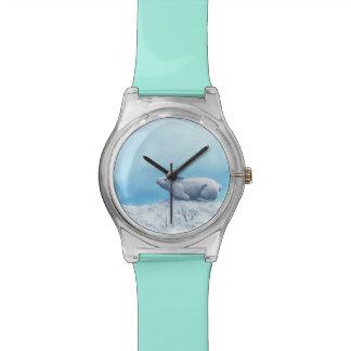 Relógio De Pulso Lebre ártica, lepus ártico, ou coelho polar