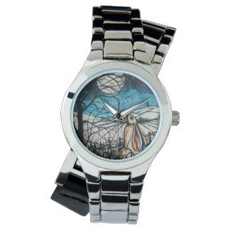Relógio De Pulso Lebre do Gazer da lua