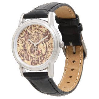 Relógio De Pulso Leitão surpreendente animal de ArtsStudio-