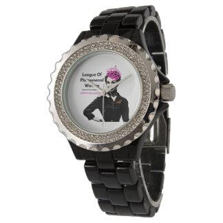 Relógio De Pulso Liga das mulheres fenomenais OFICIAIS