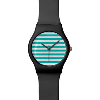 Relógio De Pulso Listras horizontais do Aqua