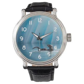 Relógio De Pulso Lontra de mar brincalhão