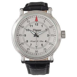 Relógio De Pulso Luz clássica do Flieger de Kristel