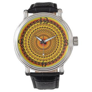 Relógio de pulso Mandala gráfico