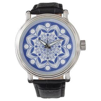 Relógio De Pulso Mandala ornamentado de Boho