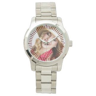 Relógio De Pulso Marido personalizado da lembrança dos homens do