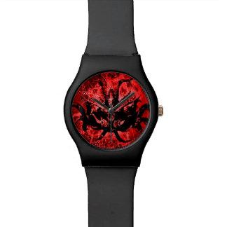 Relógio De Pulso Máscara tribal assustador