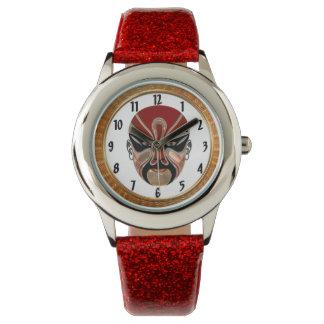 Relógio De Pulso Máscaras faciais da ópera de Peking em design5
