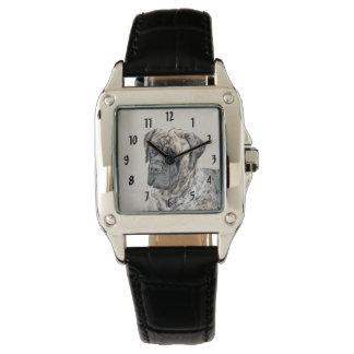 Relógio De Pulso Mastiff inglês (rajado)