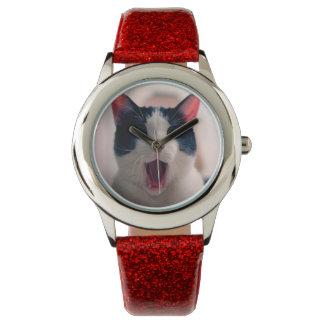 Relógio De Pulso Meme do gato - gato engraçado - memes engraçados
