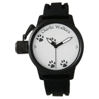 Relógio De Pulso Modelo das pegadas do cão