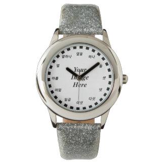 Relógio De Pulso Modelo vazio (cara coreana) por Kenneth Yoncich