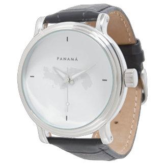 Relógio De Pulso Moderno: Mapa de Panamá
