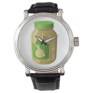 Relógio De Pulso Molho da cebola da comida do pulso aleatório