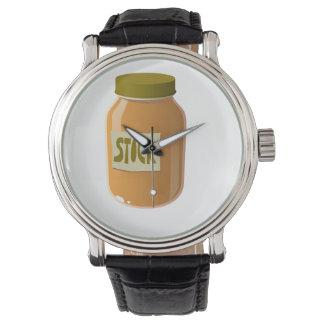 Relógio De Pulso Molho do estoque de comida do pulso aleatório