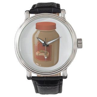 Relógio De Pulso Molho ondulado da comida do pulso aleatório