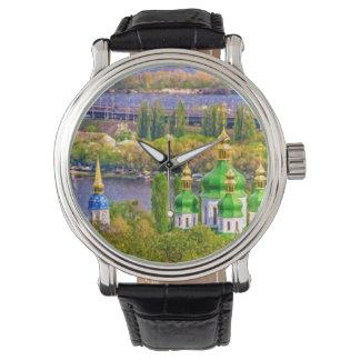 Relógio De Pulso Monastério de Vydubitsky. Kiev, Ucrânia