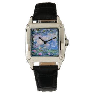 Relógio De Pulso Monet - lírios de água 1919