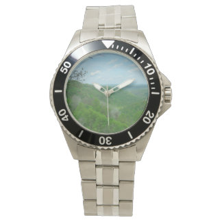 Relógio De Pulso Montanhas verdes de West Virginia
