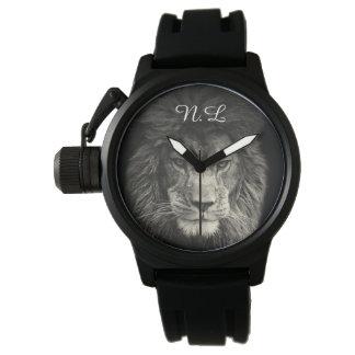 Relógio De Pulso Mostra homem Leão N.L