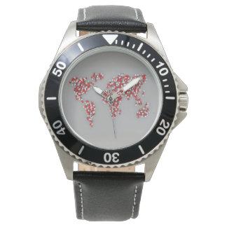 Relógio De Pulso Mundo