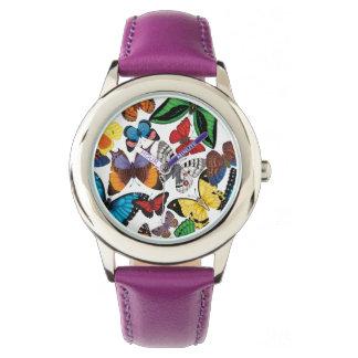 Relógio De Pulso Mundo da borboleta