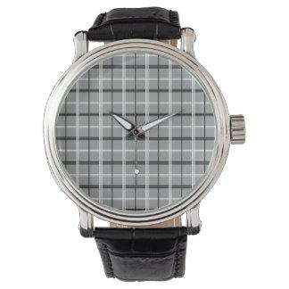Relógio De Pulso Na moda mínimo elegante elegante cinzento do