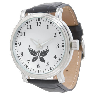 Relógio De Pulso nandina Borboleta-dado forma