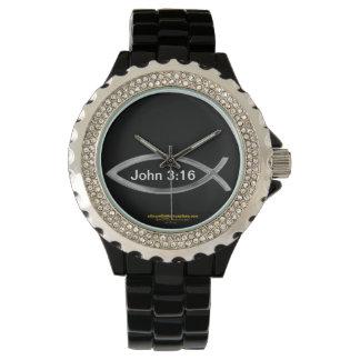 Relógio De Pulso Natal do 3:16 de John