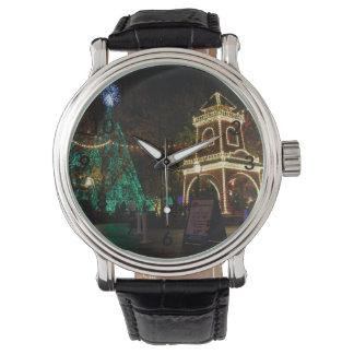 Relógio De Pulso Natal na cidade do dólar de prata