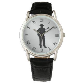 Relógio De Pulso Numerais romanos de w do guitarrista