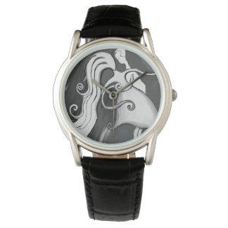 Relógio De Pulso O amor é ondulado