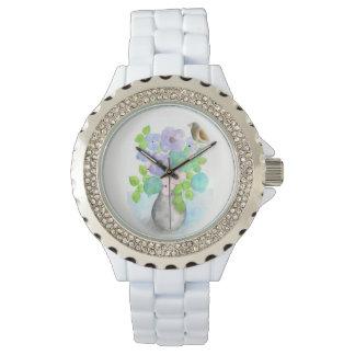 Relógio De Pulso O buquê do primavera floresce o wach das mulheres
