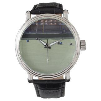 Relógio De Pulso O gramado rola gatinho no verde,
