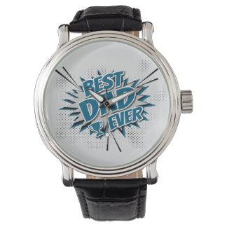Relógio De Pulso O melhor pai nunca