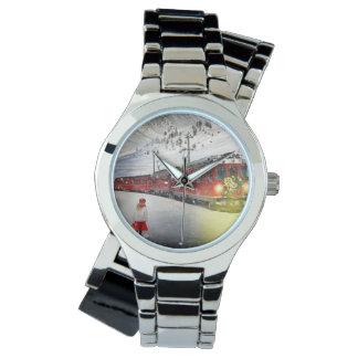 Relógio De Pulso O papai noel expresso do Pólo Norte - trem do